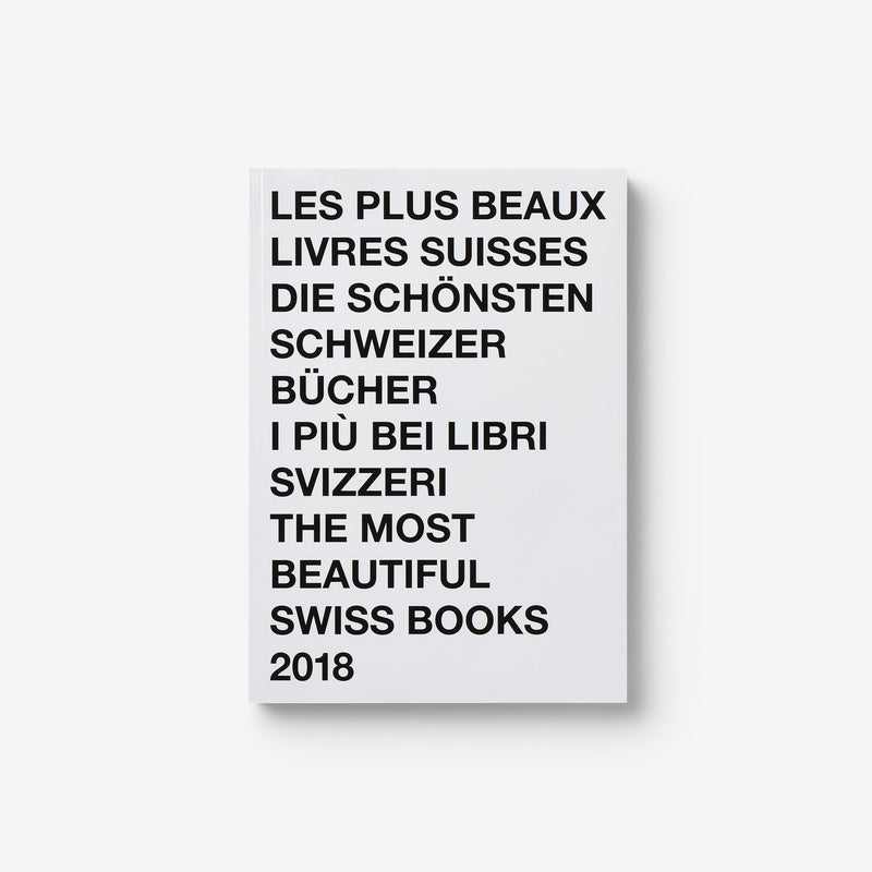 The Most Beautiful Swiss Books 2018