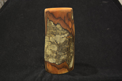 Wooden Vessel Tall