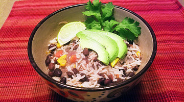 Rice & Black Bean Stew