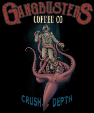 Crush Depth Black Mug, 15 oz.