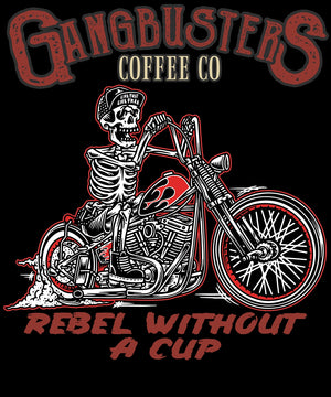 Rebel Without A Cup Mens Short Sleeve T-Shirt