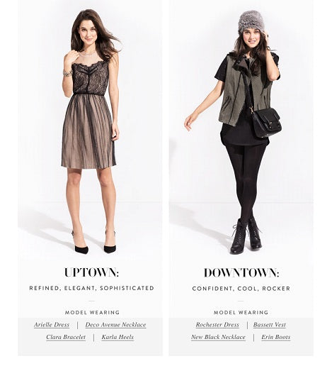StyleMint - Uptown vs Downtown