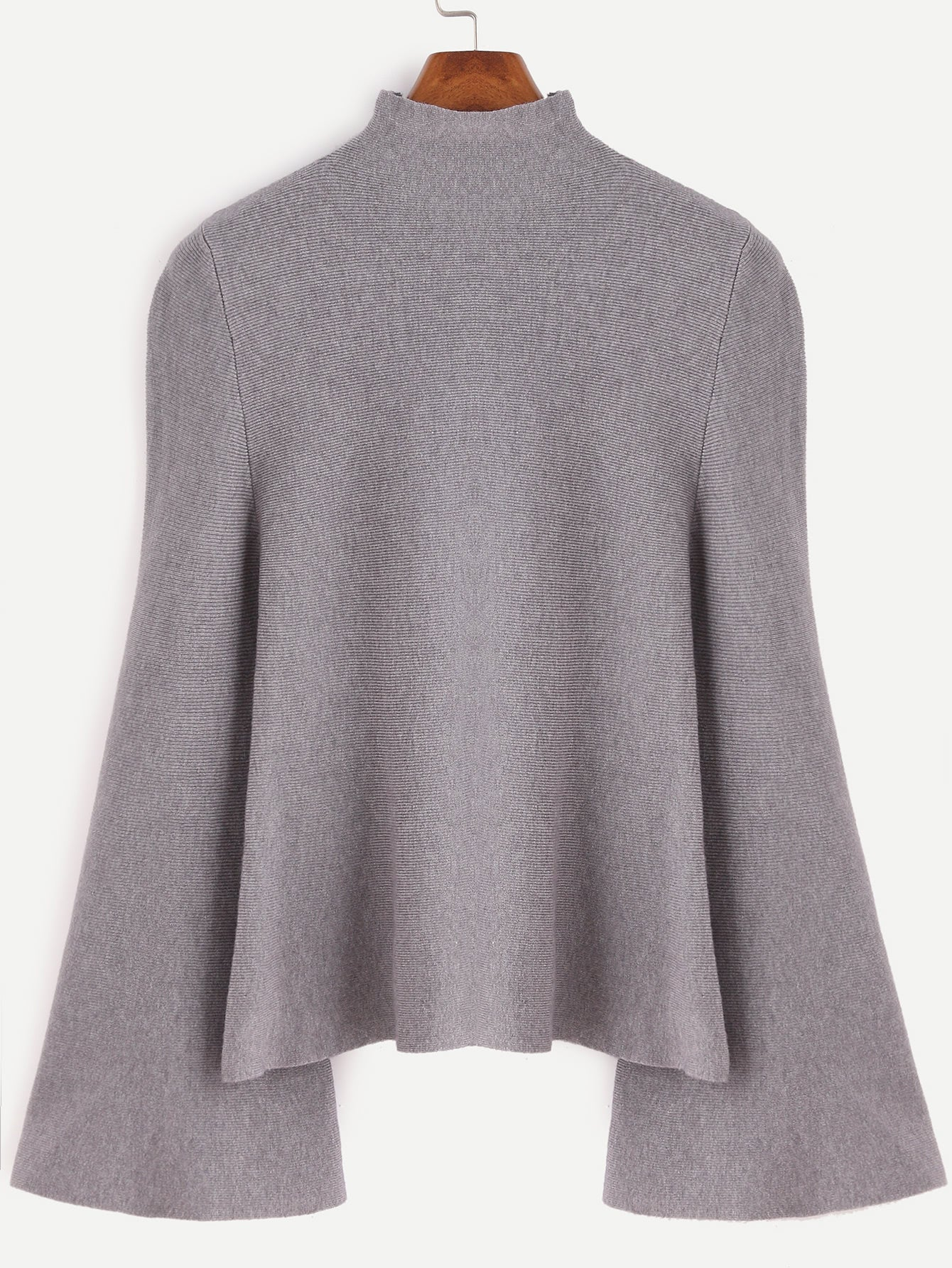 Where It's At Swing Sweater - Grey