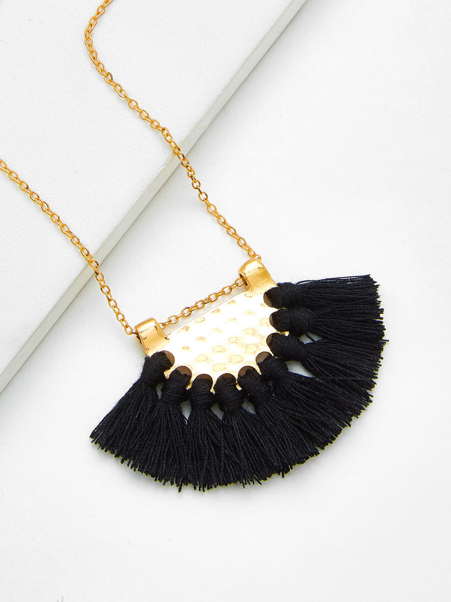 Sweet Jane Tassel Necklace