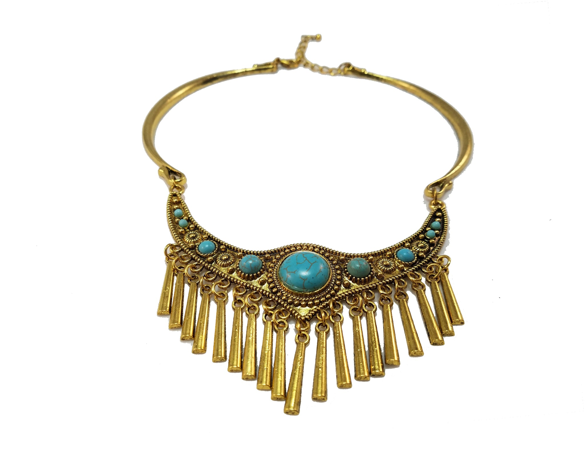 Raise the Bar Fringe Necklace
