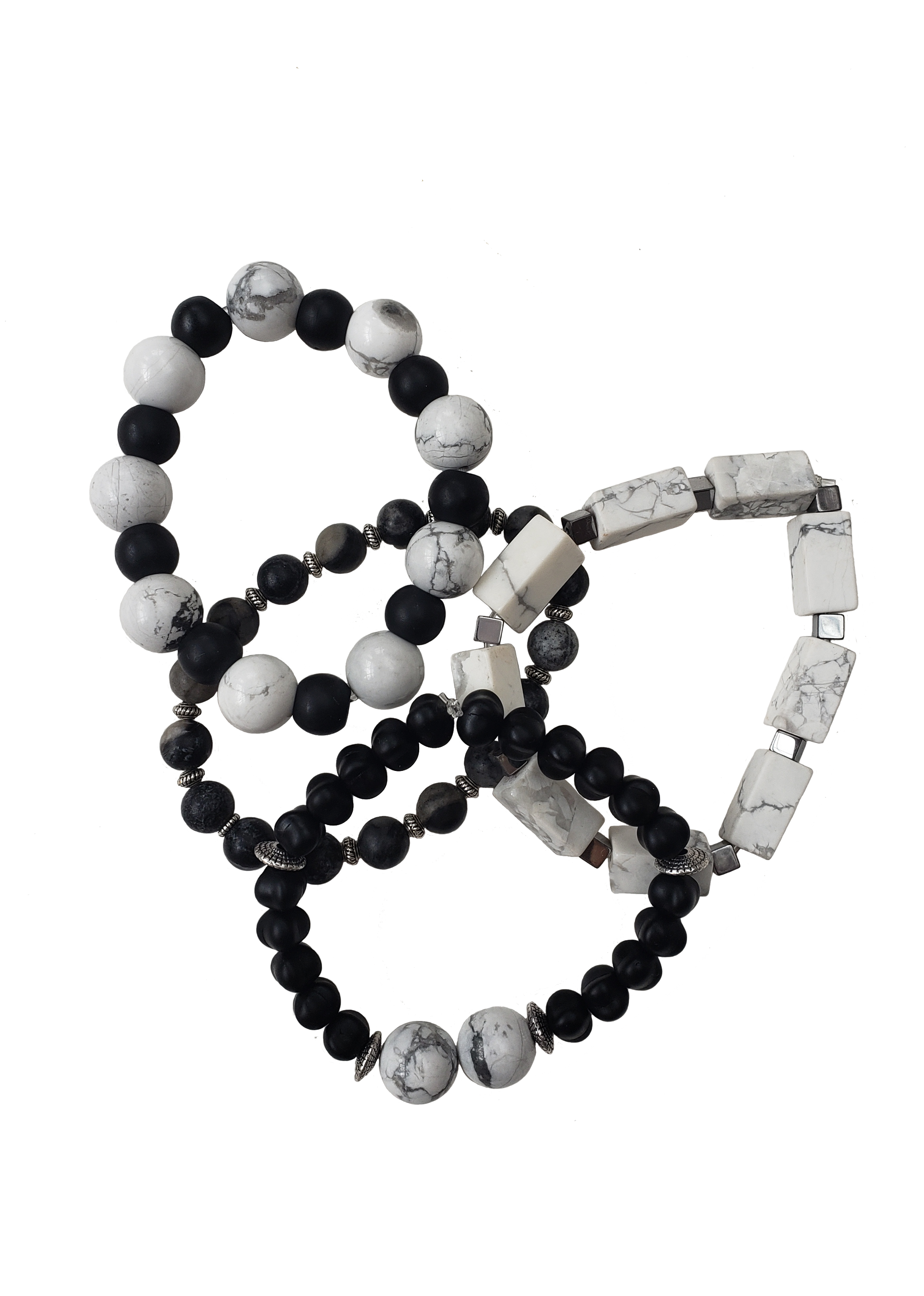 The Black Album Collection - Handmade Beaded Bracelets (choose 1)