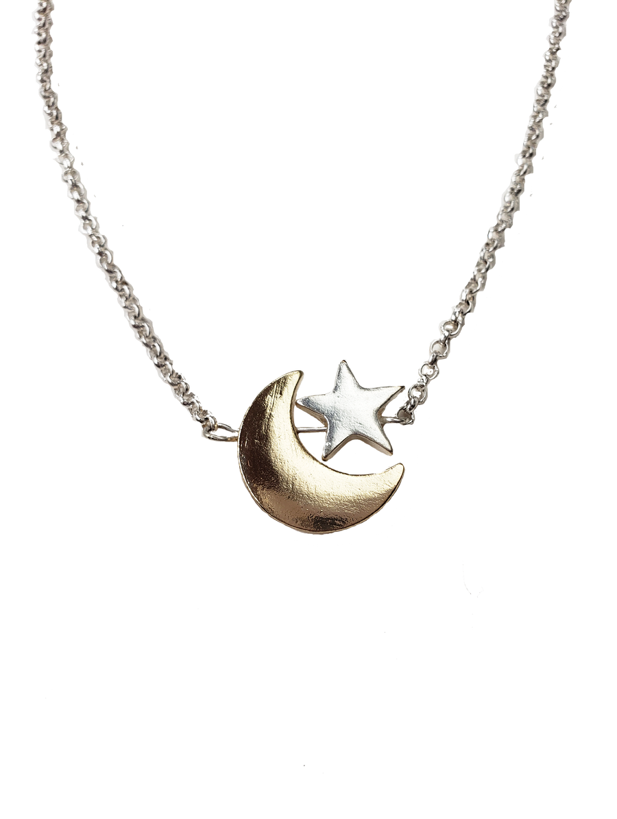 La Lune & Star Necklace