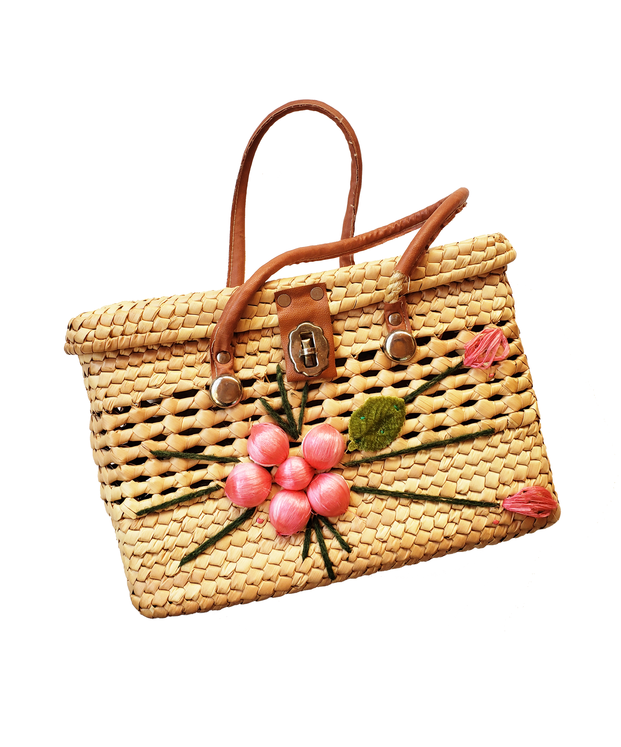 Summer's Day Wicker Handbag (Only 1)