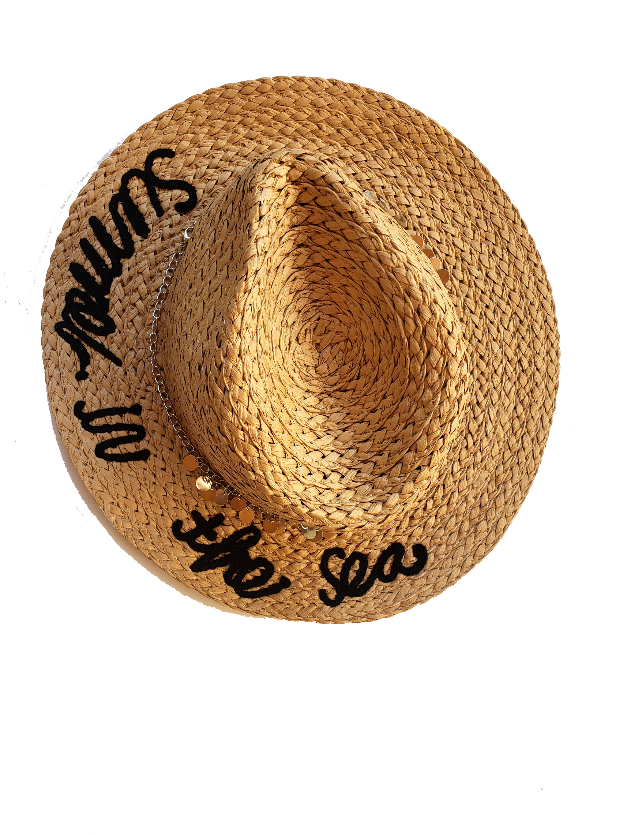 Summer Time Straw Hat