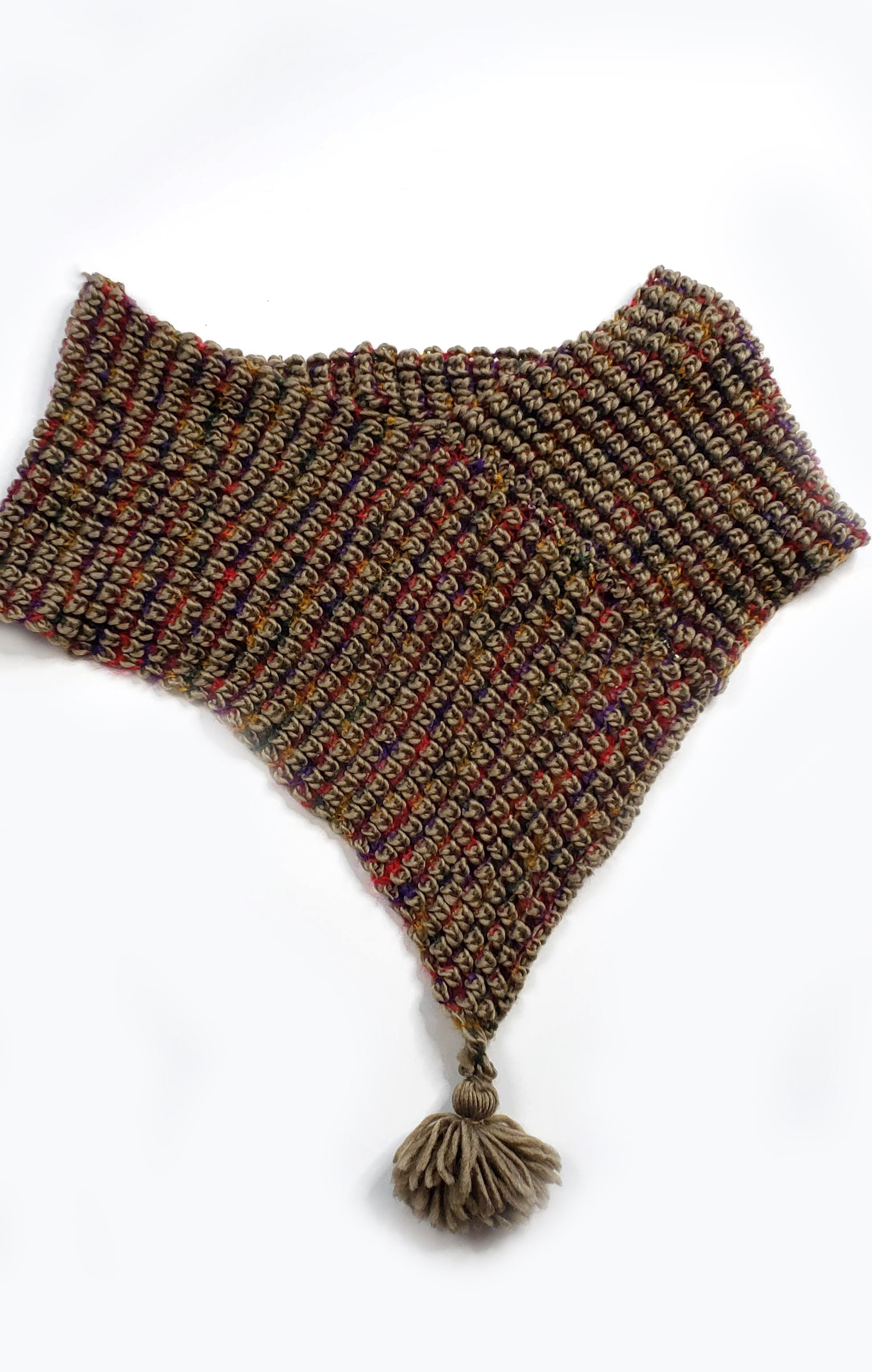 Tassel Point Scarf
