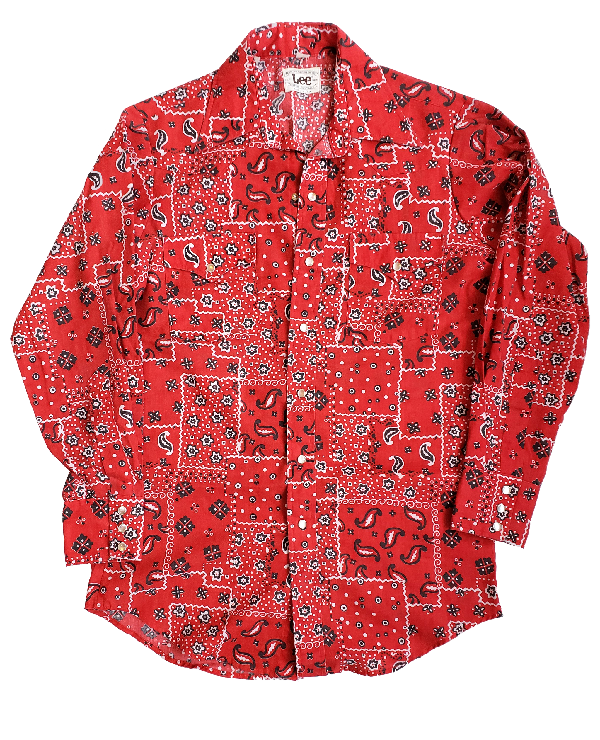 Vintage Lee Western Style Snapdown Shirt