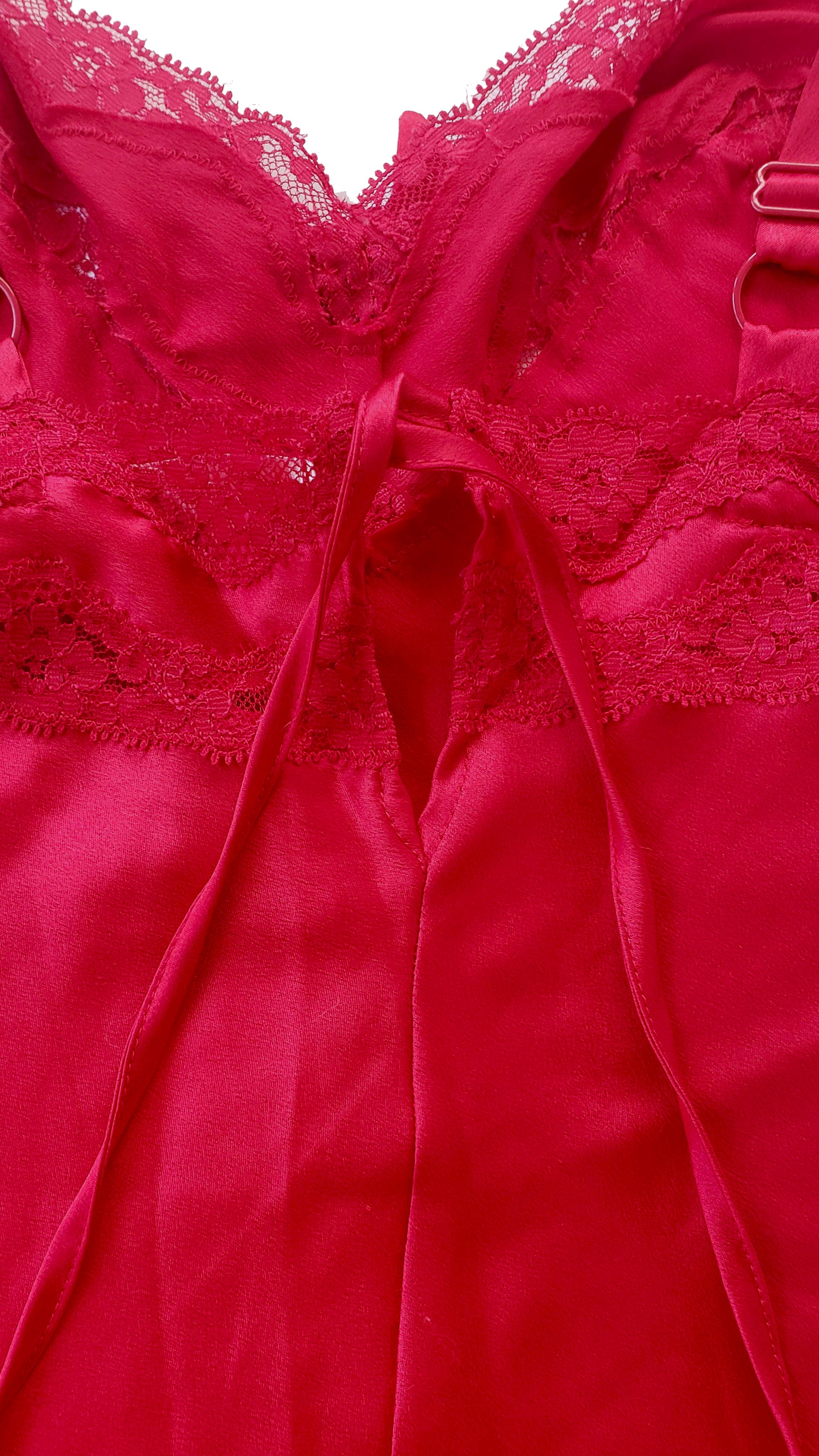 90s Victoria's Secret Angels Satin & Lace Romper