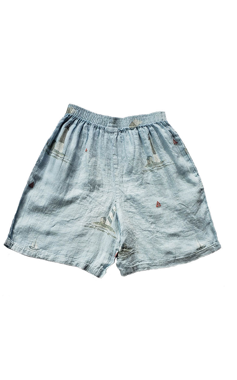 Vintage 90's Mill Valley Cotton Sailing Shorts