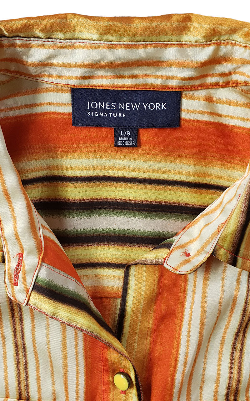 Retro Jones New York Signature Blouse