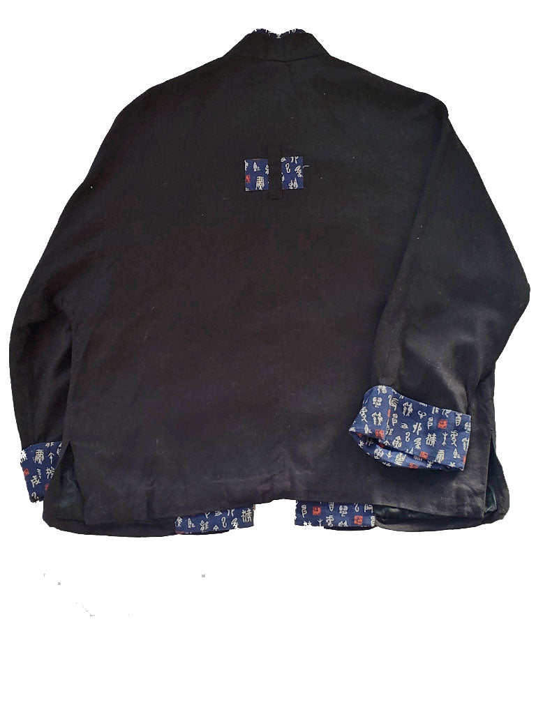 90s Navy/Black Asian Jacket