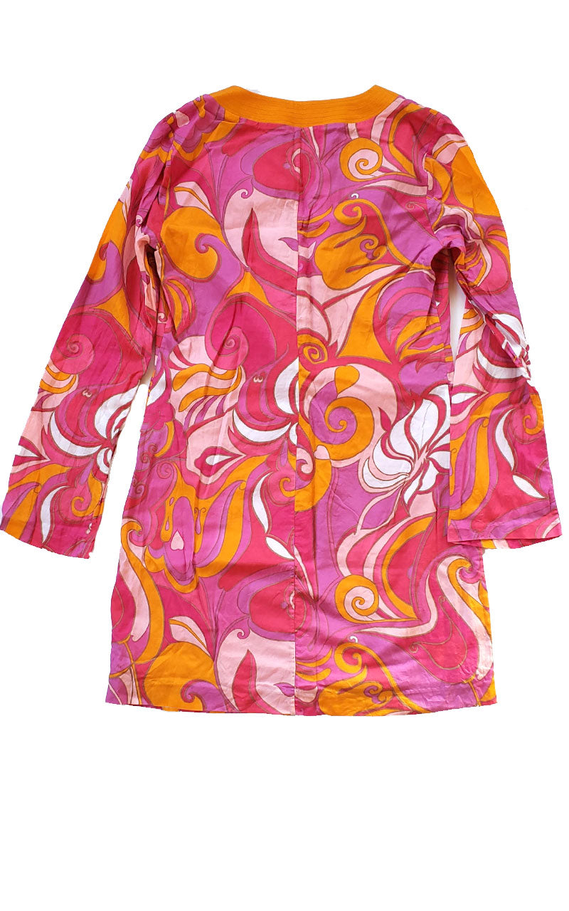 Trina Turk X Banana Republic Pink Paisley Shift Dress