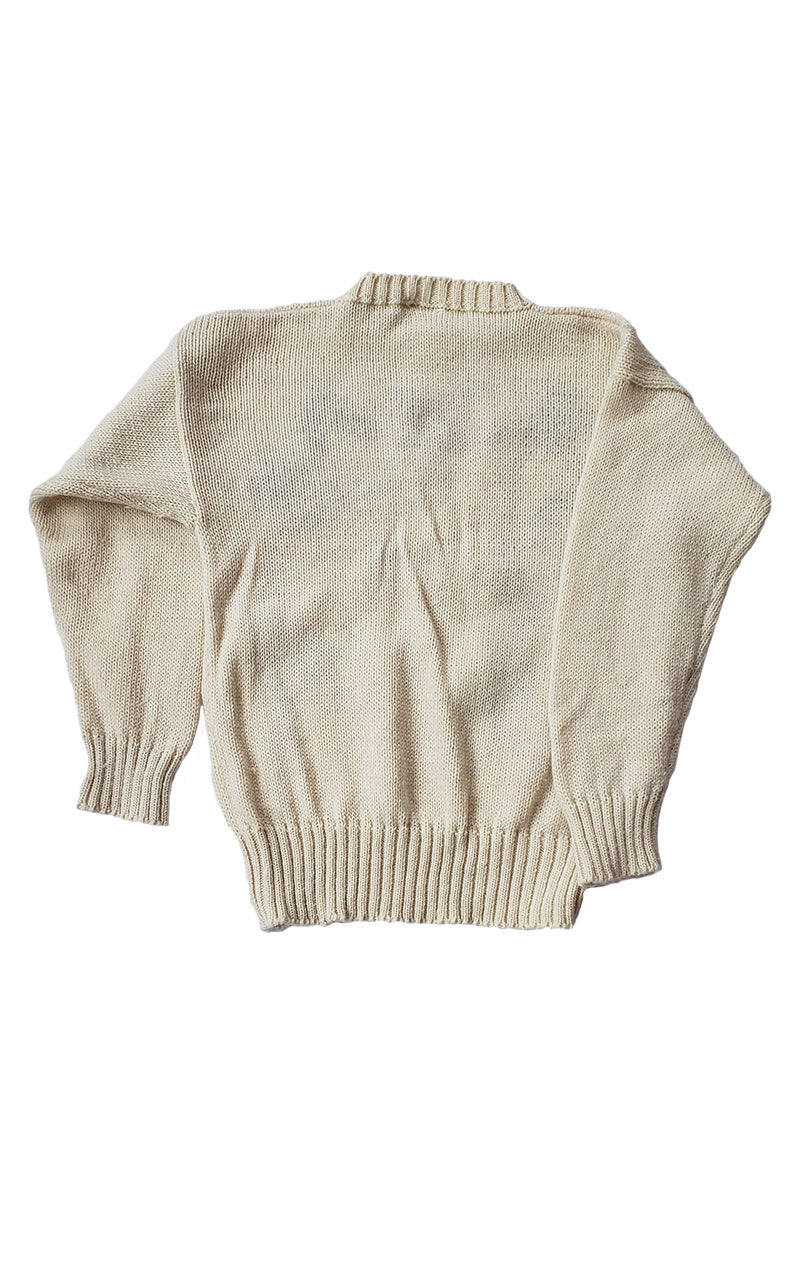 Rare Vintage TEXAS Wool Hand Loomed Sweater