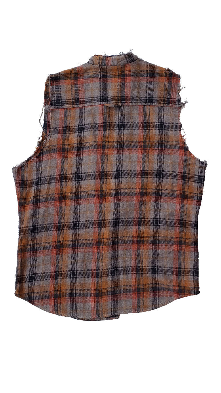 Men's Flannel Recon Tunic Vest