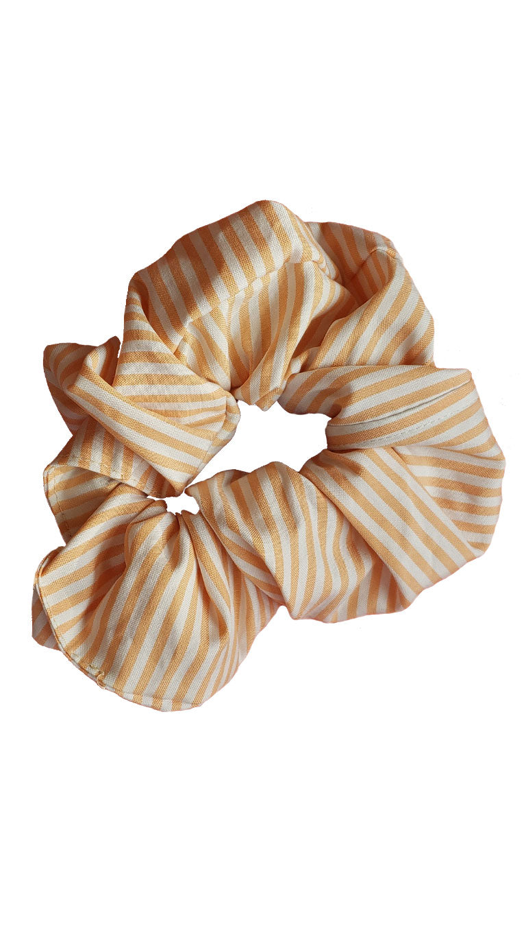 Circus Tent Stripe Scrap Scrunchies