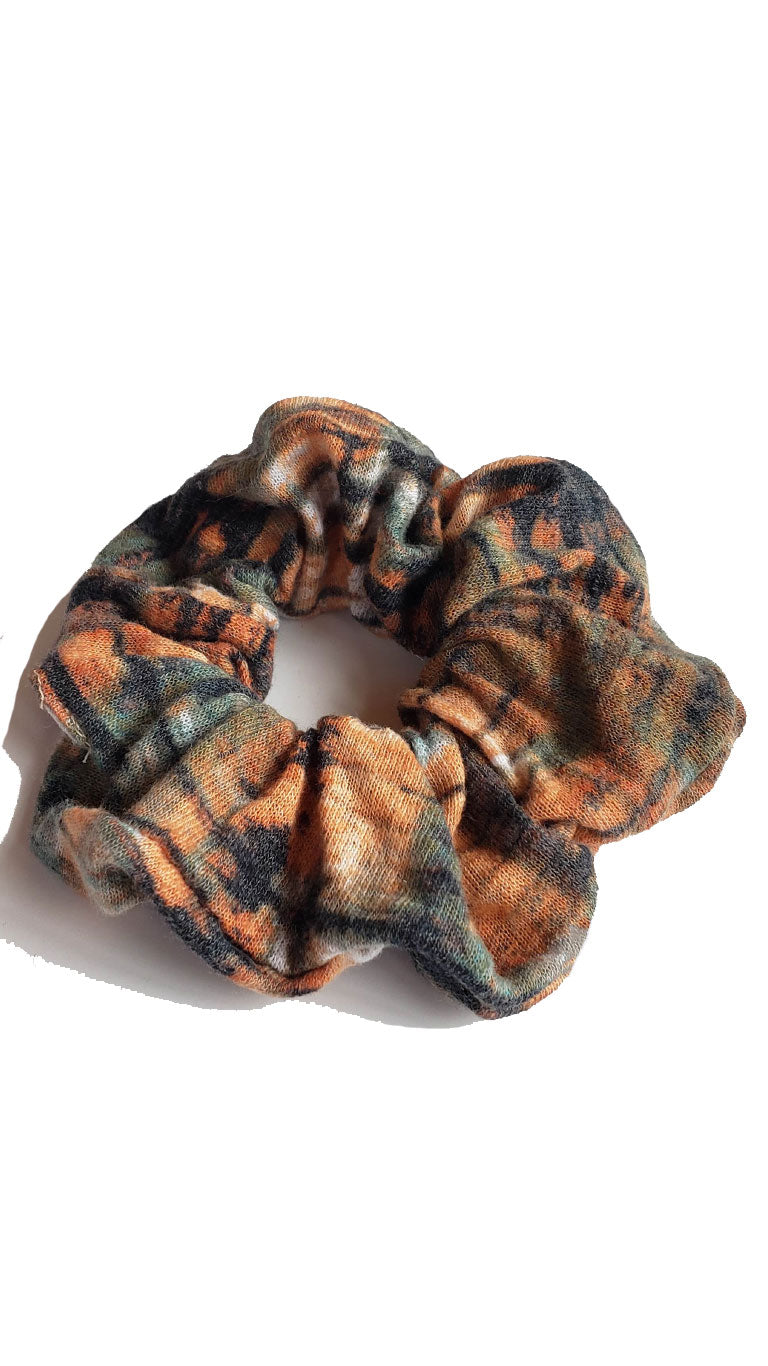 City Grunge Scrap Scrunchie