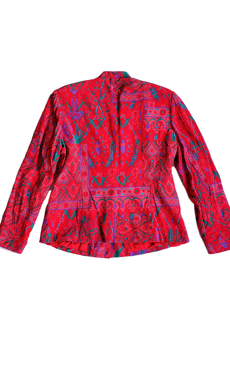 Vintage Anne Crimmins for UMI Collections Hot Pink Blazer