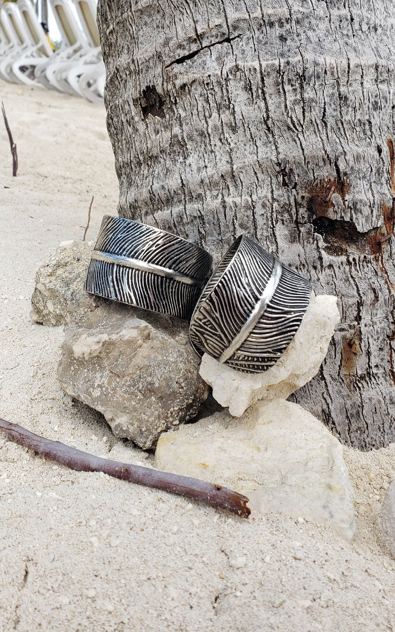 The Sounds of Flutter Feather Cuff