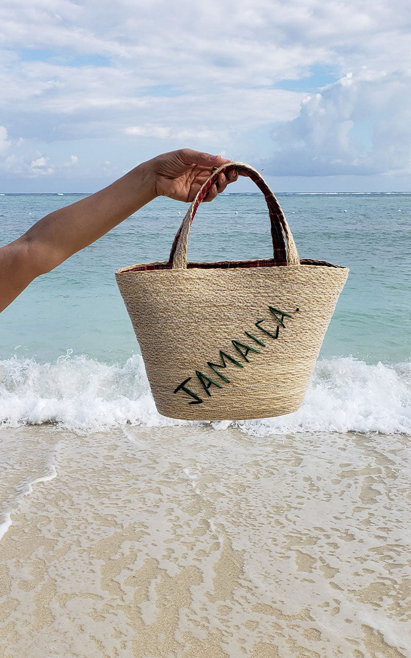 Wicker Jamaica Tote Bag