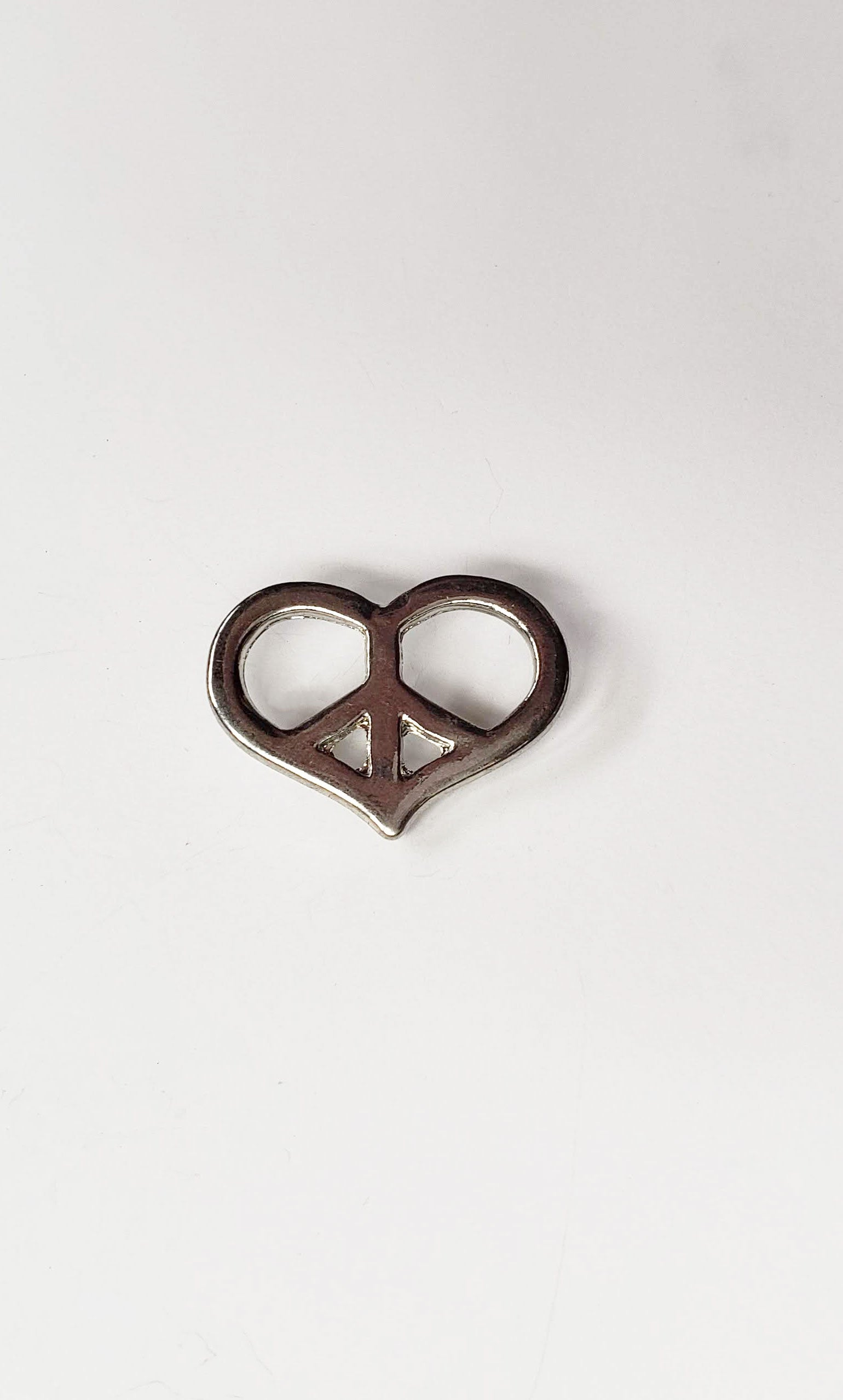 Vintage Peace & Love Pin