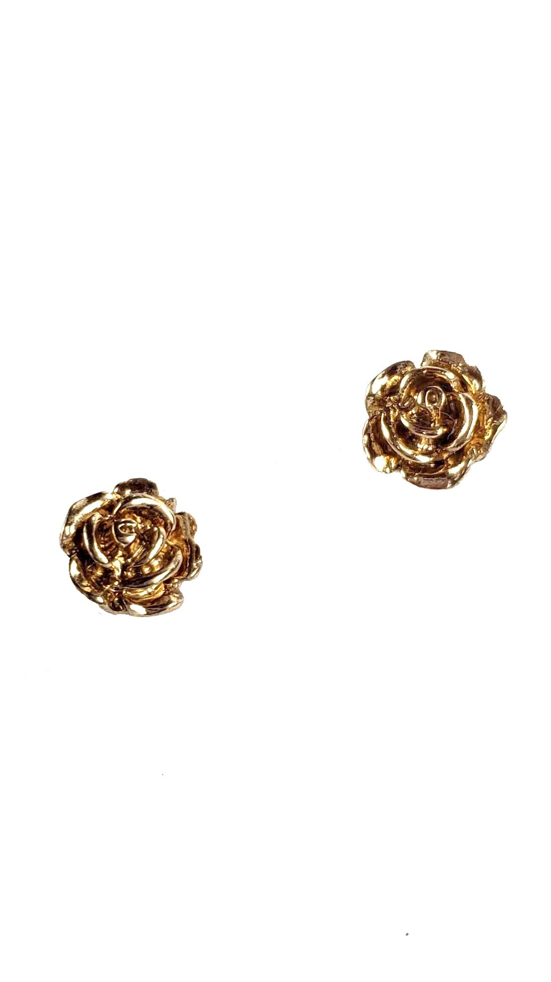 Vintage Little Rosebud Post Earrings