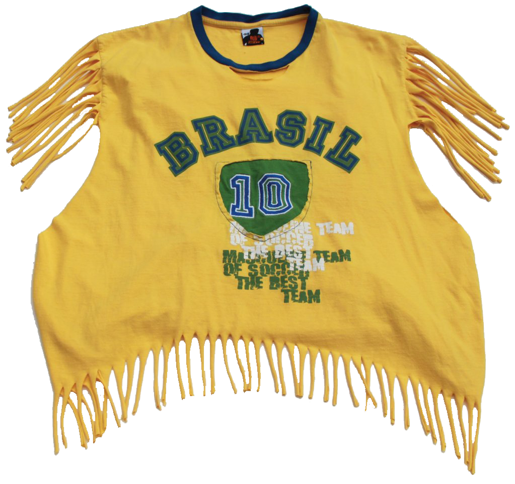 Brasil Slashed Tee (Only 1)