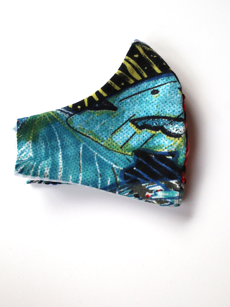 Reversible Butterfly Print Mask 3