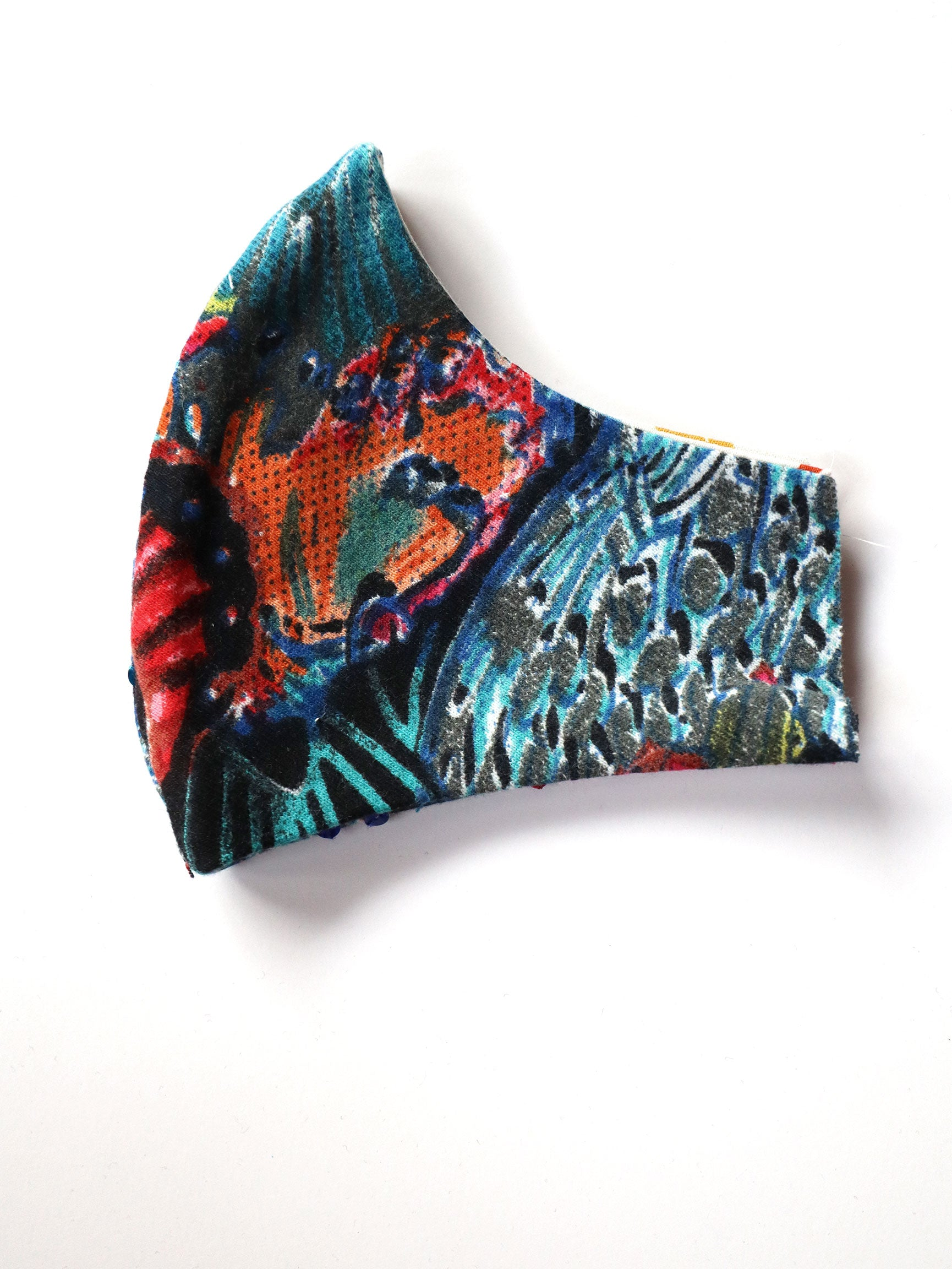 Reversible Butterfly Print Mask 4