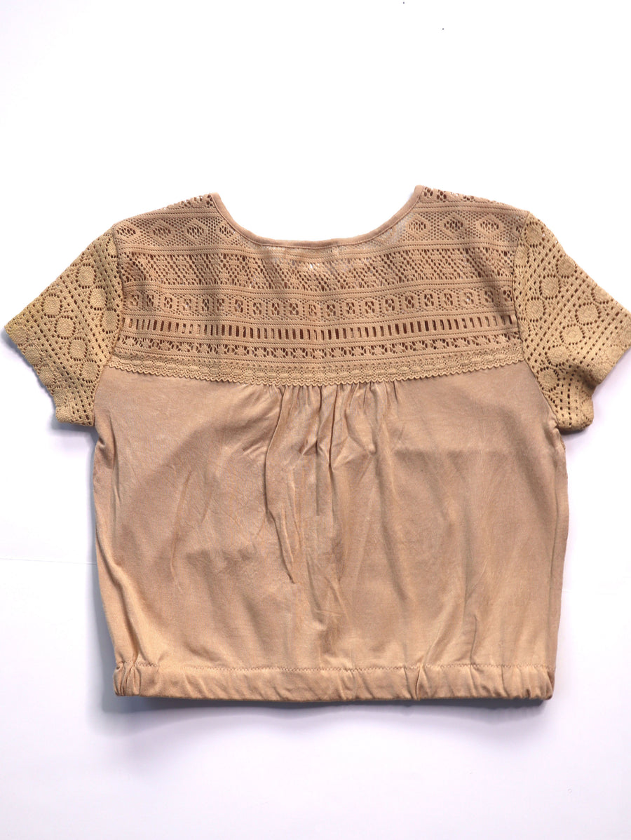 Cropped John Paul Richard Vintage Top