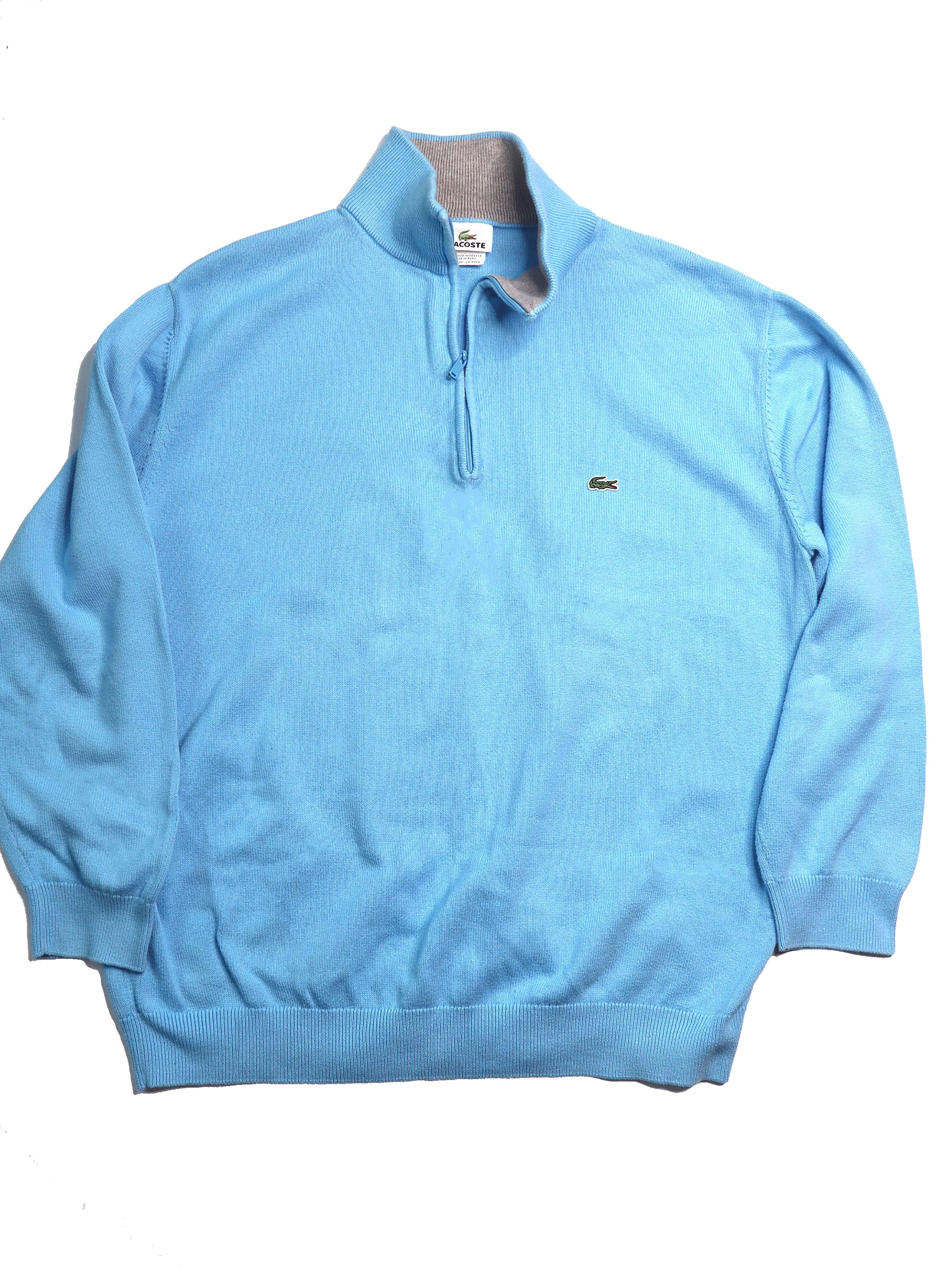 Men's Lacoste 1/4 Zip Sweater