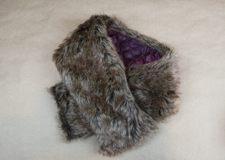 Into the Woods Fur Collar