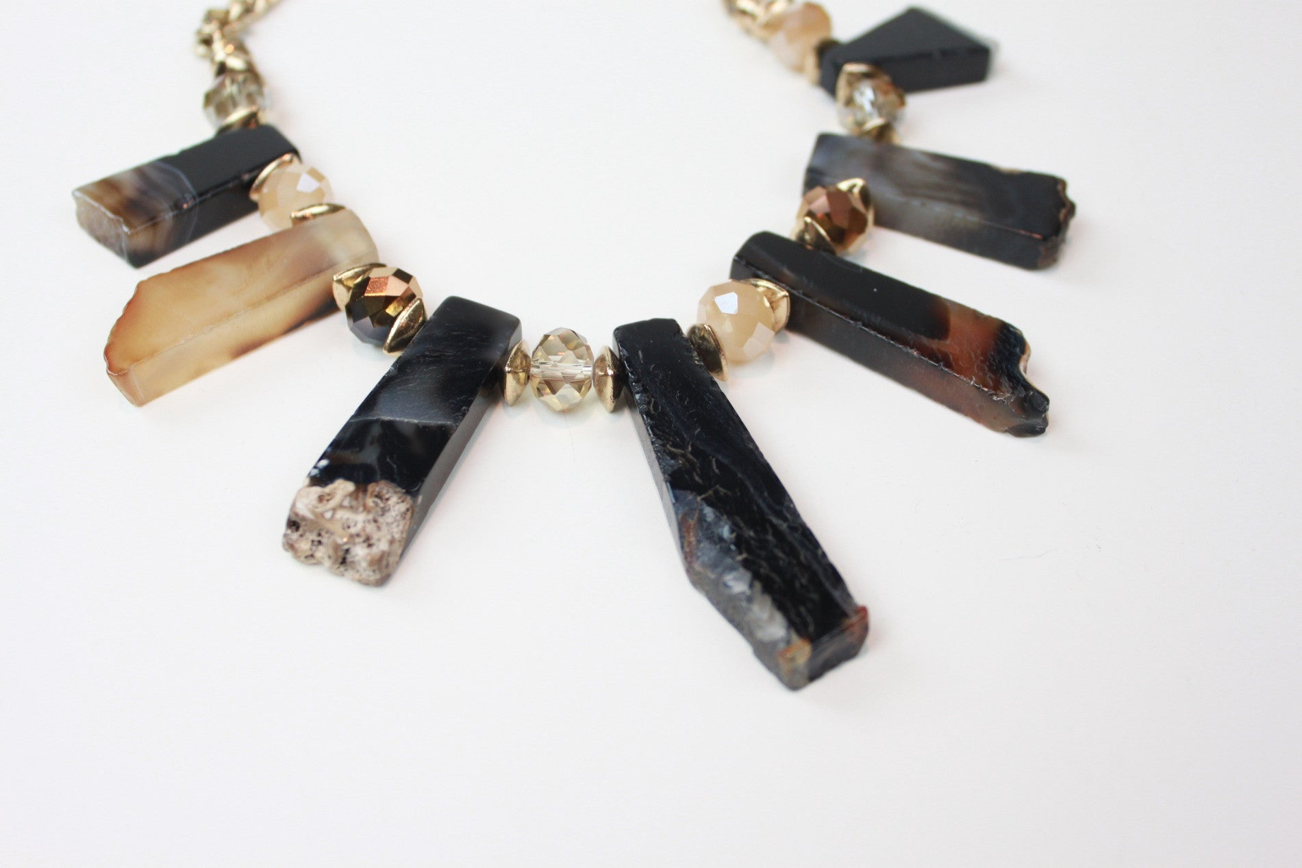 The Geologist Natural Stone Necklace