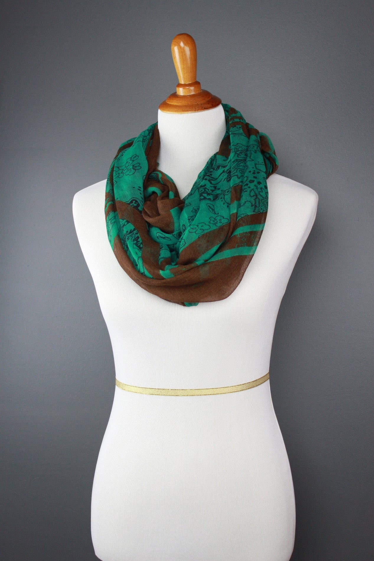Hunter's Paisley Scarf