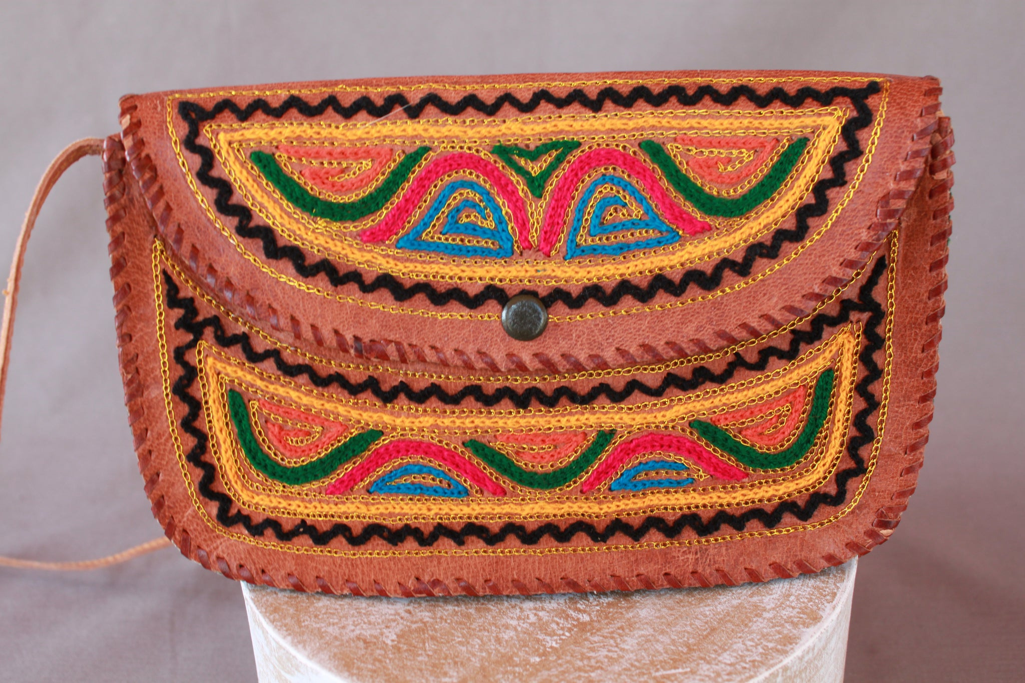 Desert Embroidered Mini Bag (Only 1)