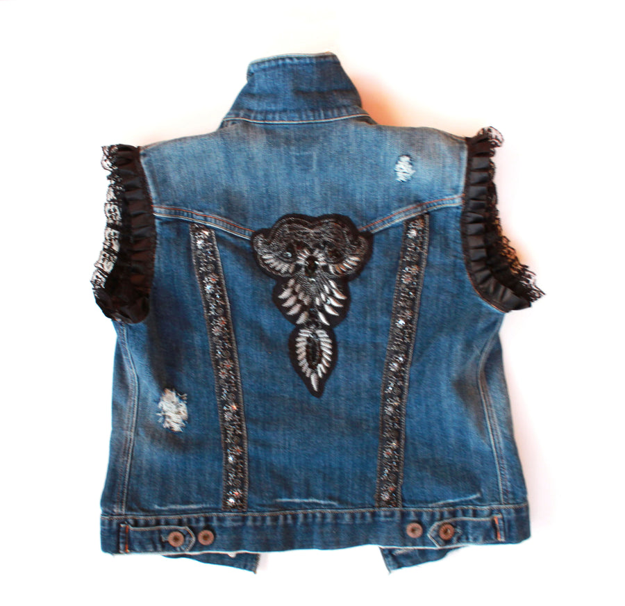 #thejacketproject - Altered Denim Jacket #1