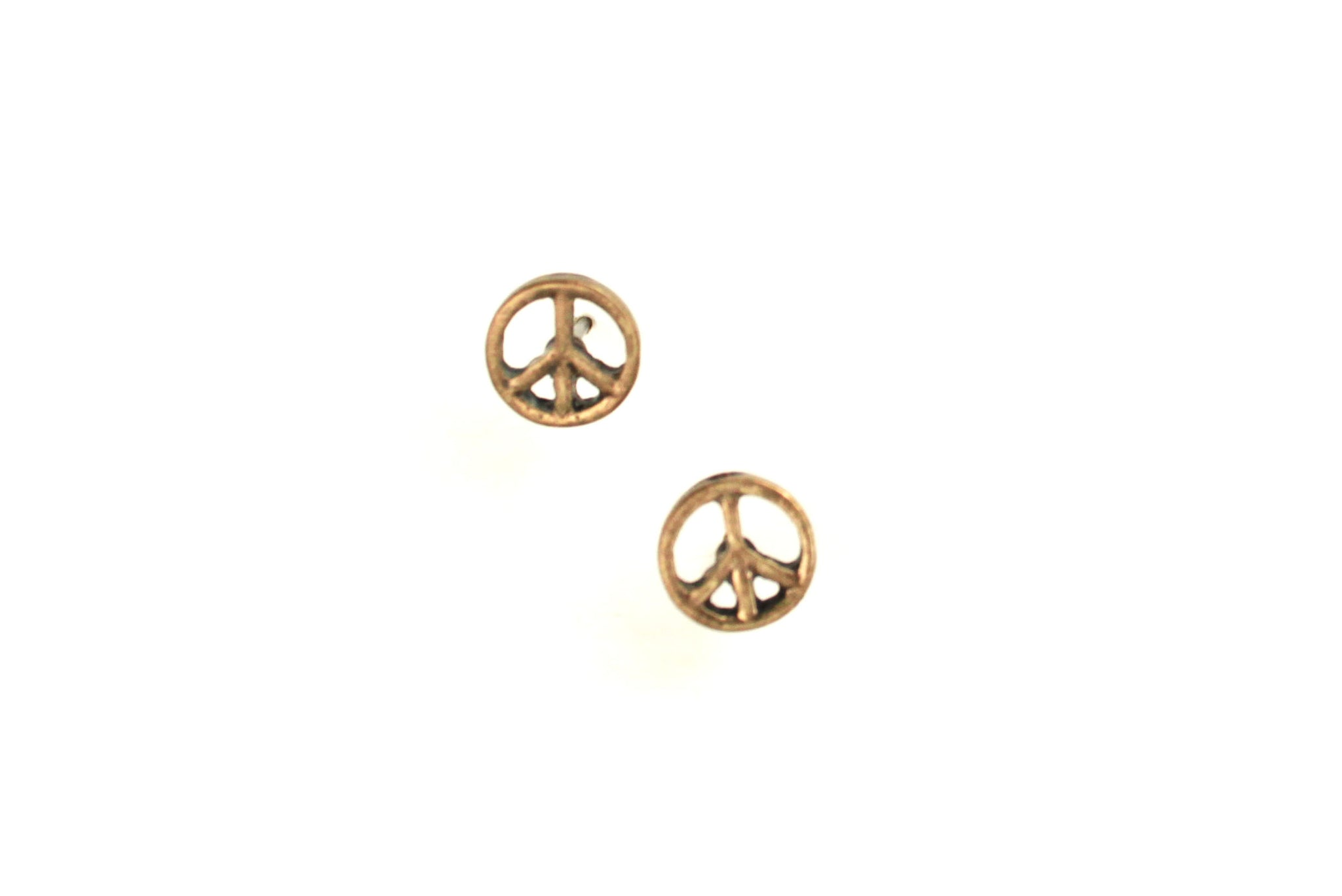 Peace Baby Earrings
