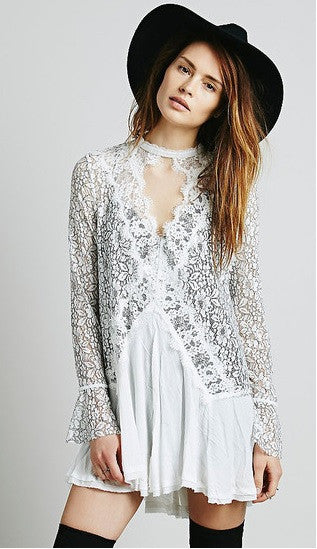 Icelandic Lace Dress
