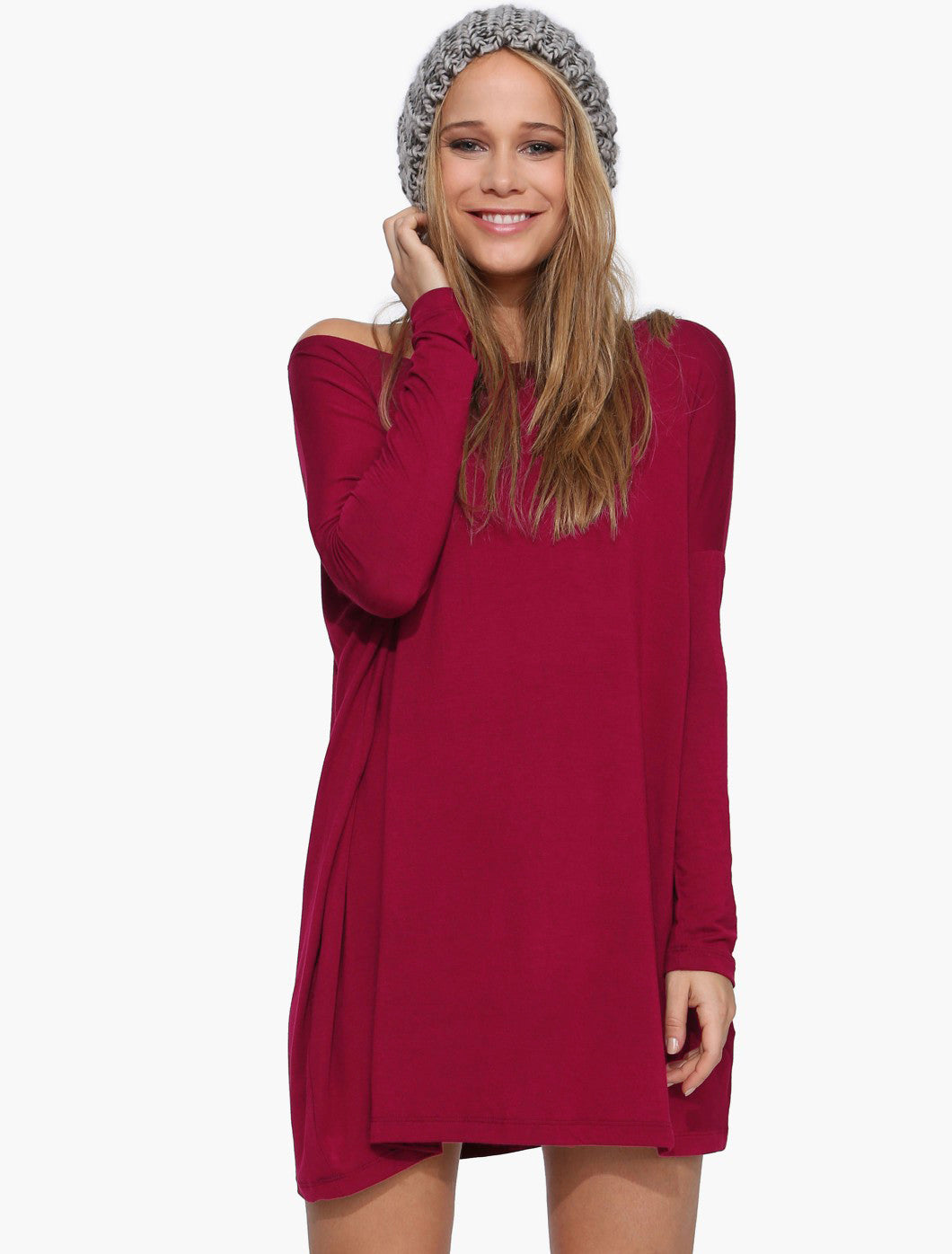 Garnets of Love Knit Dress
