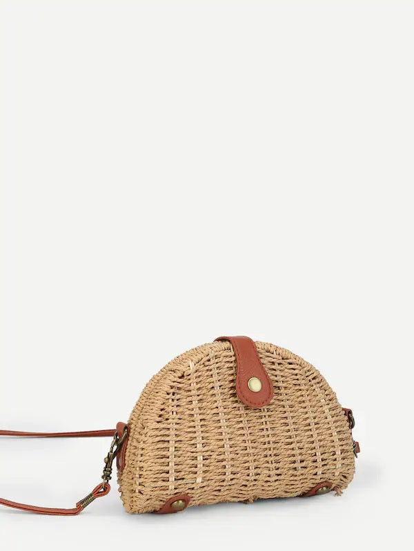 Pale Moon Arisin' Straw Bag