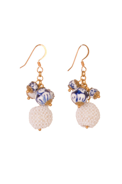 DELFT BAUBLE EARRING