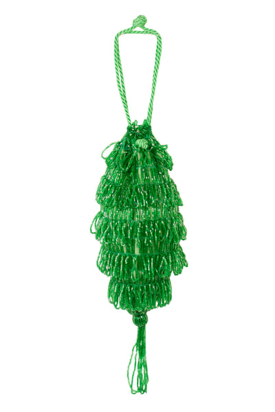 BEAD FRINGED DILLY BAG