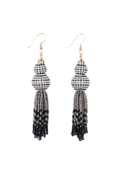 GIGI TASSEL EARRINGS - LONG