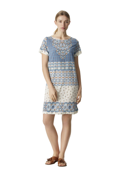 ORLA SHIFT DRESS - SHORT SLEEVE