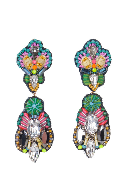 MISHRA DUO DROP EARRINGS