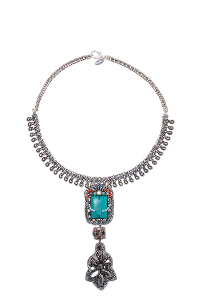 AYASHA DUO DROP NECKPIECE
