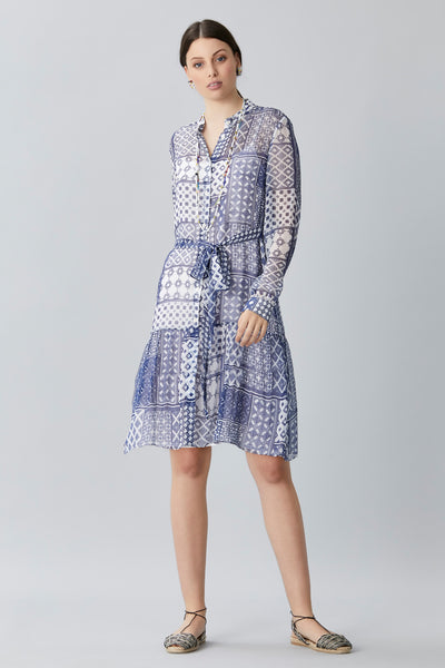 MINA CHIFFON SHIRT DRESS